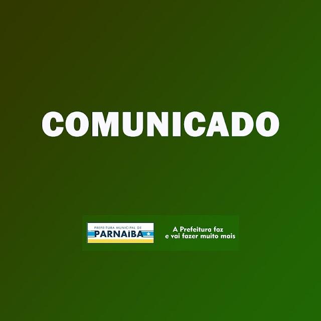 Prefeitura Municipal de Parnaíba: Nota de Esclarecimento