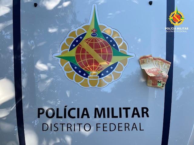 Homem é detido após passar dinheiro falso na Cidade Estrutural