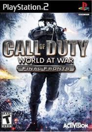 Free Download Call of Duty World at War Final Fronts PCSX2 ROM ISO Untuk Komputer Full Version - ZGASPC