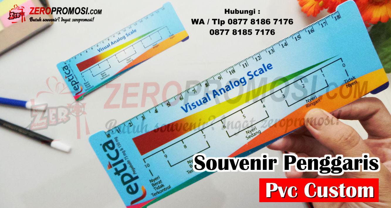 Souvenir Penggaris PVC lentur cetak logo, Penggaris anti patah 20 cm, Souvenir ATK penggaris pcv