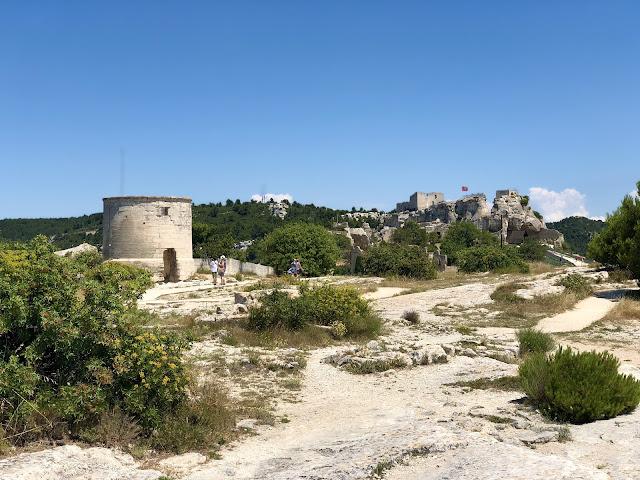 Fortareata Baux-de-Provence France