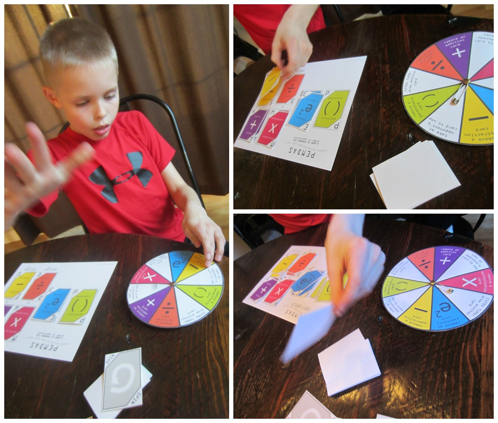 It is a graphic of Hilaire Order of Operations Game Printable