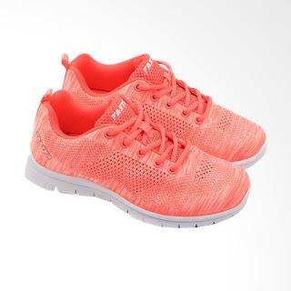 Faster 1546 Sepatu Sneakers Wanita - Peach