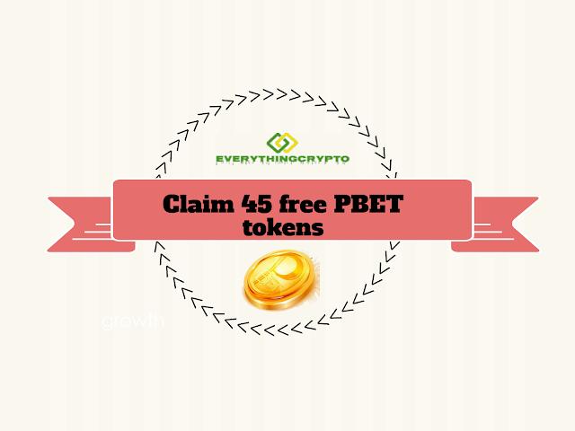 Claim 45 free PBET tokens