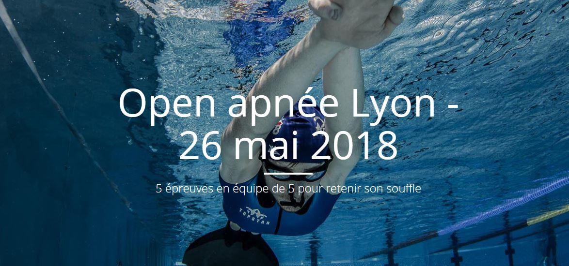 Open Apnée Lyon 2018