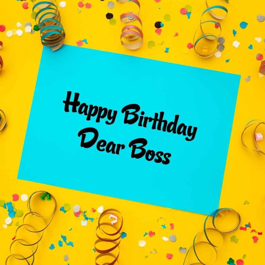 happy birthday ex boss images