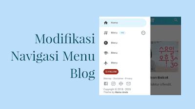 Cara Mudah Membuat Menu Navigasi Keren Tanpa Edit HTML