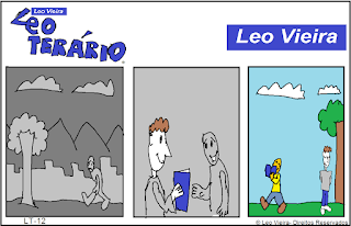 Quadrinhos Leo Terário