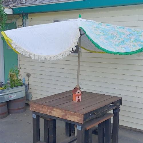 How to DIY a Patio Umbrella Cover
