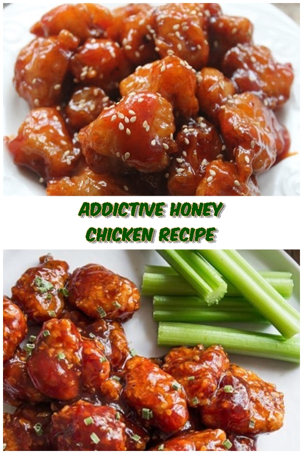 #Addictive #Honey #Chicken #Recipe #crockpotrecipes #chickenbreastrecipes #easychickenrecipes
