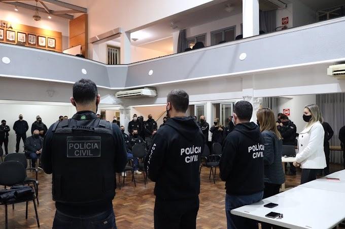 Polícia Civil utiliza 250 policiais em operação contra a tele-entrega de drogas em Cachoeirinha, Gravataí e região