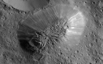 Ahuna Mons, Gunung Berapi Es yang Ditemukan di Ceres