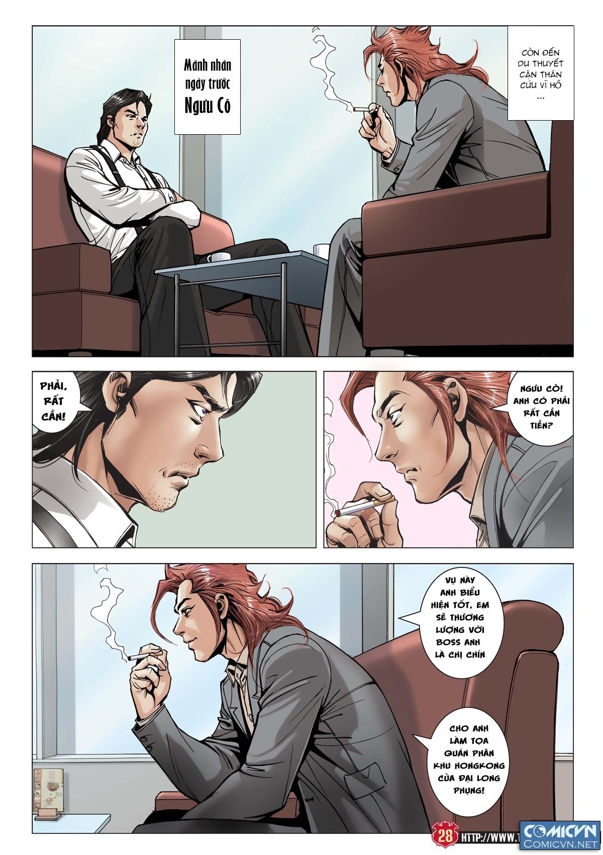 Người Trong Giang Hồ chapter 2011: hàn tân bỏ trốn trang 26