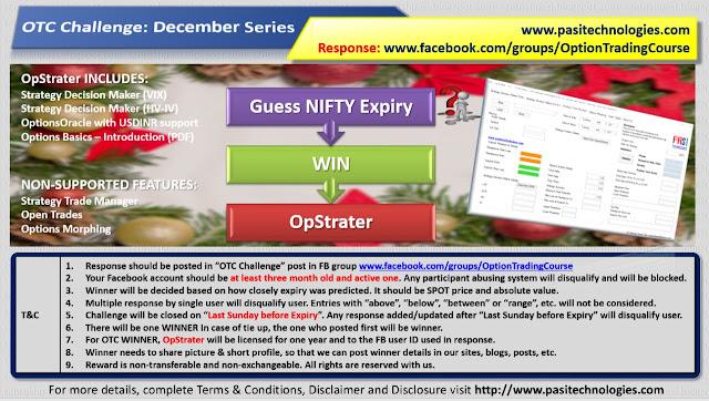OTC Challenge: December Series, 2017
