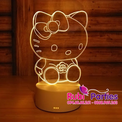 den led 3D hinh meo kitty