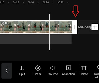 how to crop video in capcut
