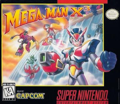 Mega Man X 3 - SNES [Em Português - Download]
