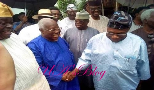 BREAKING: Obasanjo, Secondus, Bode George, others in closed door meeting