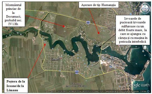 Mangalia - Pestera de la Limanu Google Maps