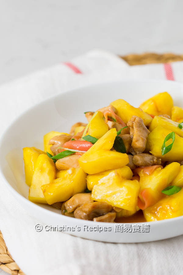 菠蘿炒雞丁 Pineapple Chicken Stir Fry04