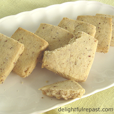 Recipes for November and Beyond (this one - Hazelnut Shortbread) / www.delightfulrepast.com
