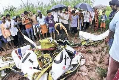 Aircraft crash