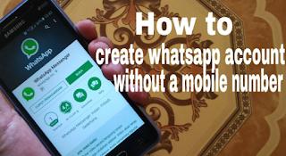 Cara Daftar WhatsApp Tanpa Nomor Telpon di Android Terbaru