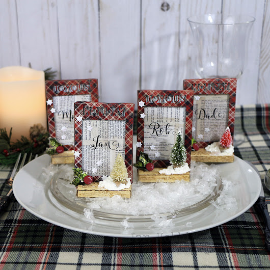 CHRISTMAS PLACE CARDS