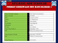 Aplikasi Administrasi Kepala Sekolah Format Kesiswaan