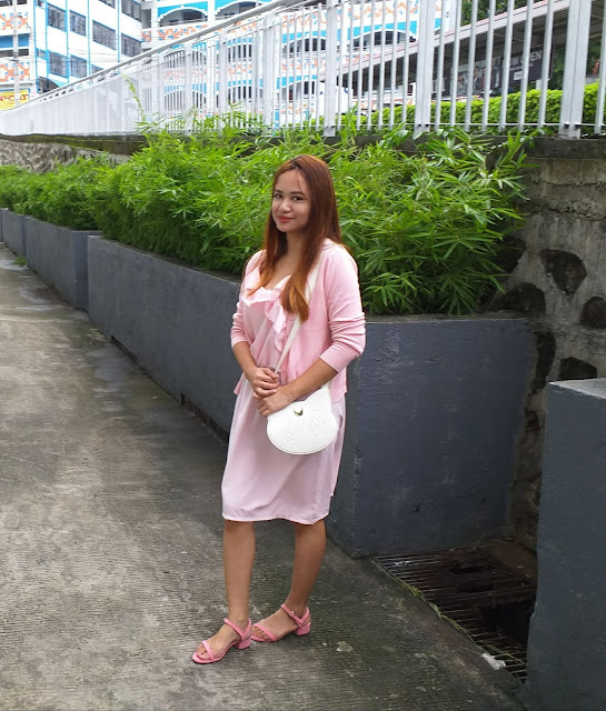 pink ootd outfit