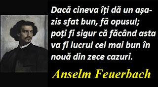 Citatul zilei: 12 septembrie - Anselm Feuerbach