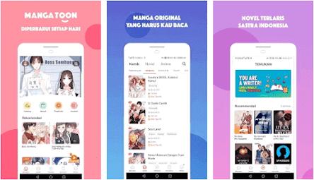 Aplikasi baca manga Android - 2