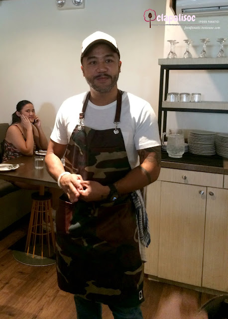 Chef JP Anglo of Sarsa