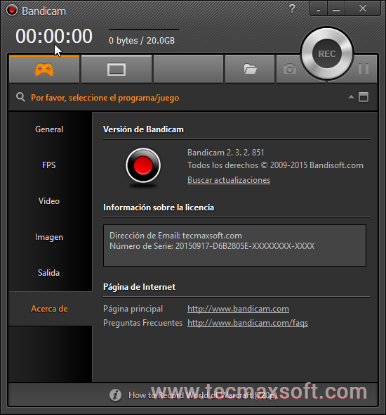 Bandicam Full 2016 descarga