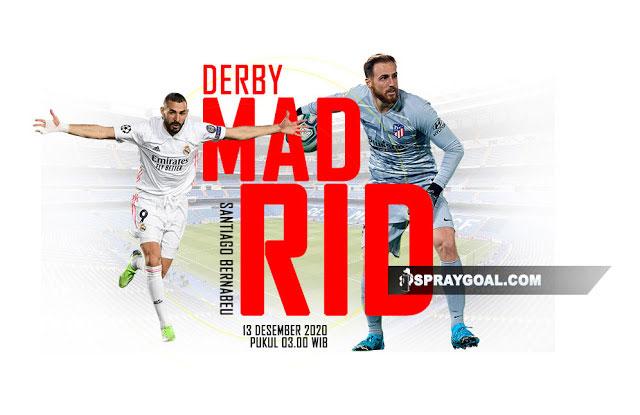Prediksi Real Madrid vs Atletico Madrid, Semangat Gempur Lawan