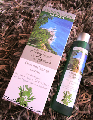 Review: Olio antiaging corpo - Mediterranea Natura