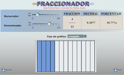 http://primerodecarlos.com/CUARTO_PRIMARIA/Diciembre/unidad5/actividades/mates/Fraccionador.swf