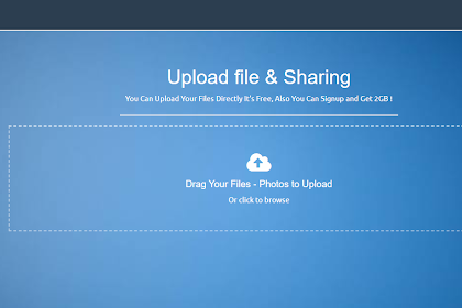Cara Membuat Website Upload File & Sharing!