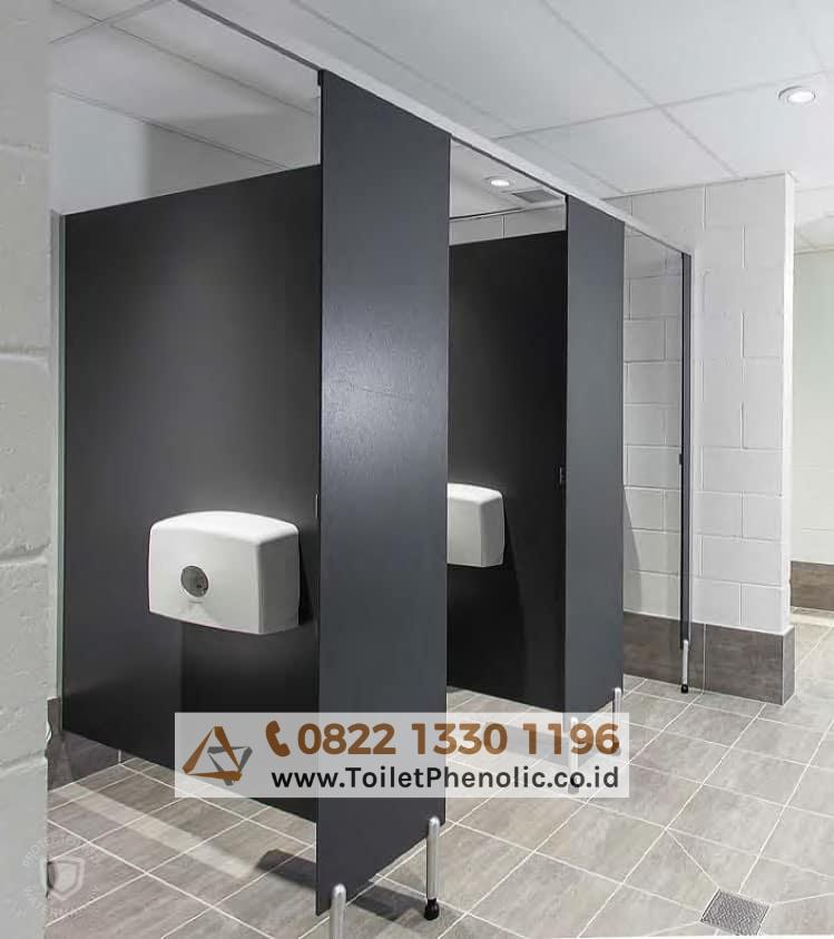 Toilet Cubicle Gorontalo (Partisi Kamar Mandi Phenolic) Murah