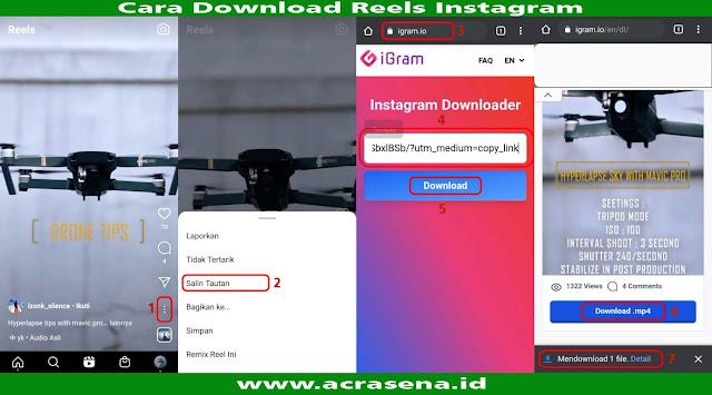 Cara Download Video Reels Instagram Tanpa Aplikasi