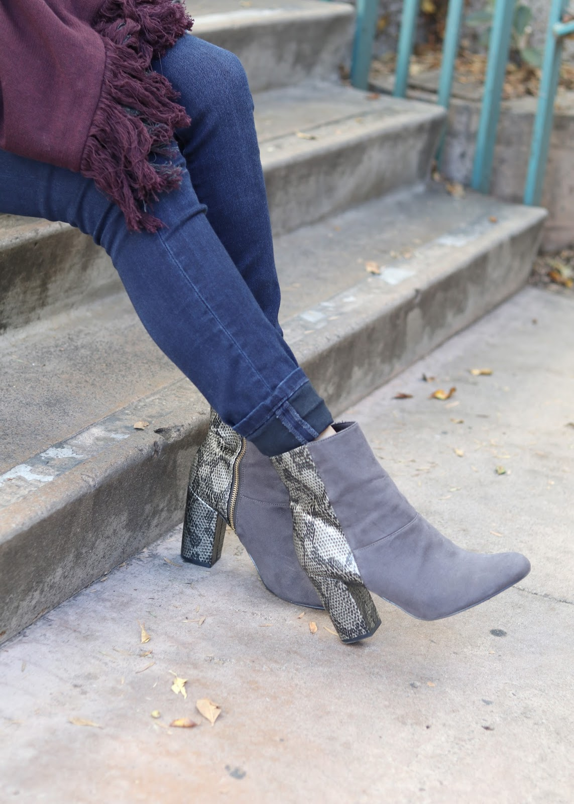 gray h&M boots, affordable boots, how to wear gray boots