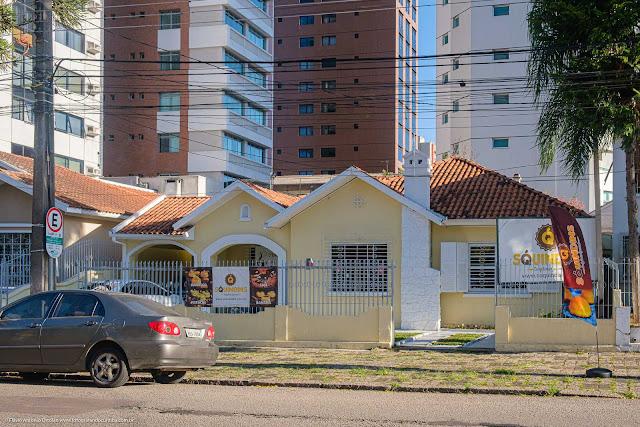 Fachada de casa na Rua Moysés Marcondes