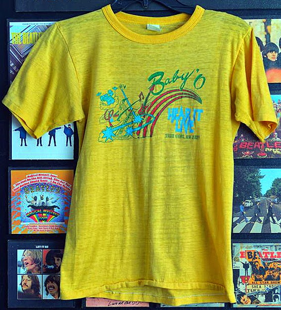 Baby O t-shirt in Seaside Heights, New Jersey