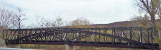 Dellville Bridge after arson