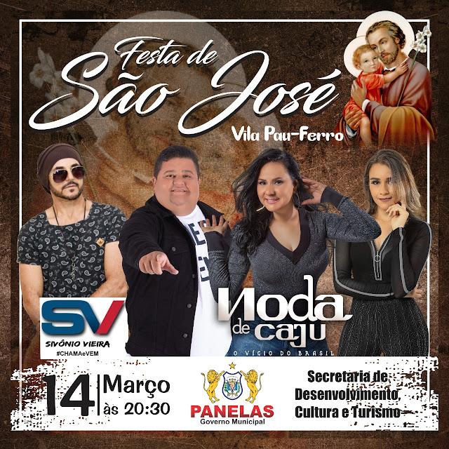 Tradicional Festa de São José na Vila do Pau-Ferró