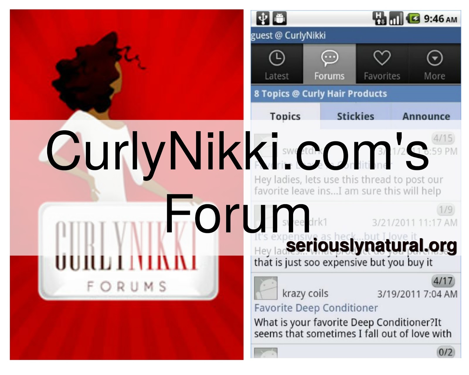 Click here for hair apps that are vital to a healthy natural hair journey!