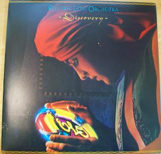 E.L.O. Discovery Record Album