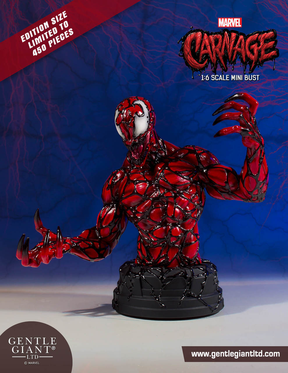 2a2383a15ec8 The Blot Says...  Carnage Marvel Mini Bust by Gentle Giant