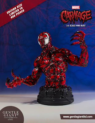 Carnage Marvel Mini Bust by Gentle Giant