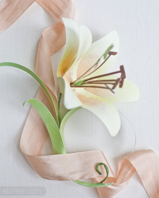 How To Make A Paper Calla Lily Flower